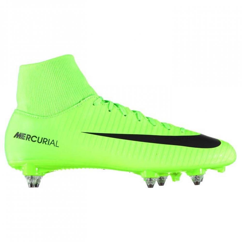 Nike Mercurial Victory Dynamic Fit SG Football Boots (GreenBlack)