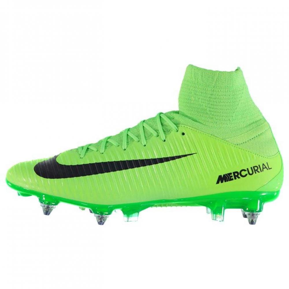 Nike Mercurial Veloce SG Football Boots (GreenBlack)