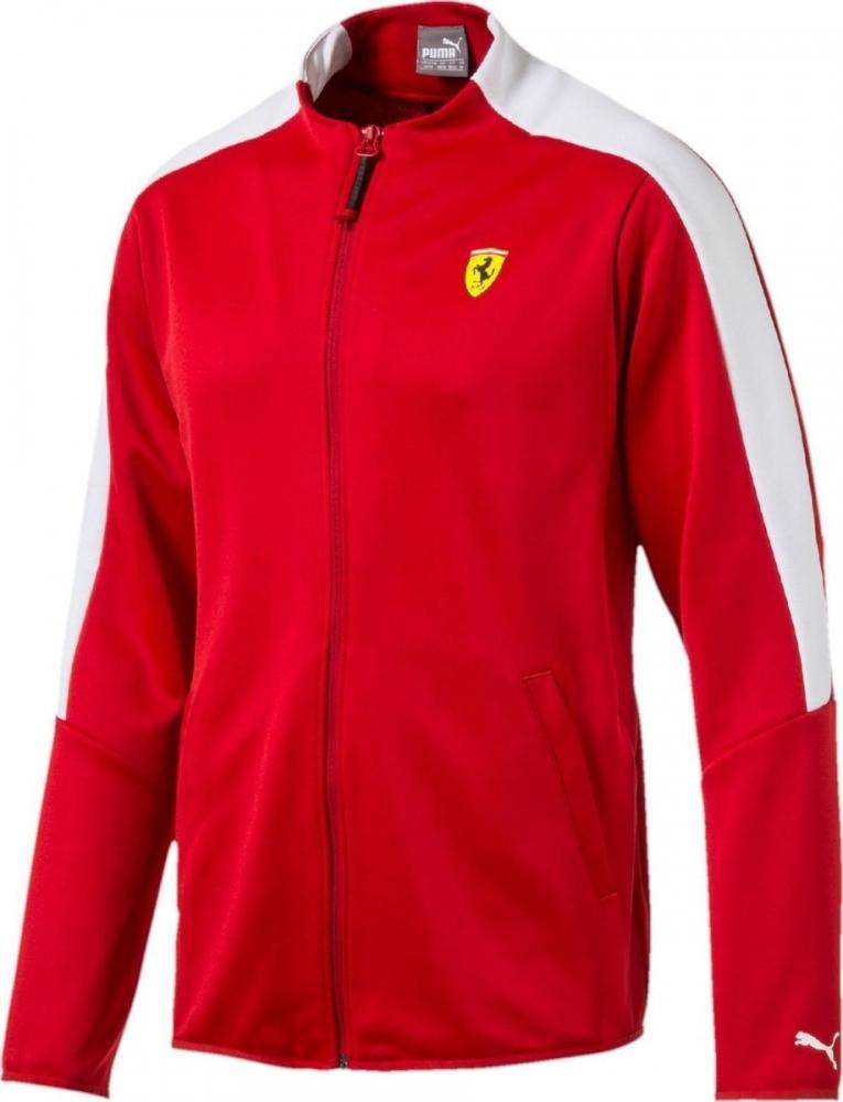 2017 Ferrari Puma SF T7 Track Jacket (Rosso Corsa)