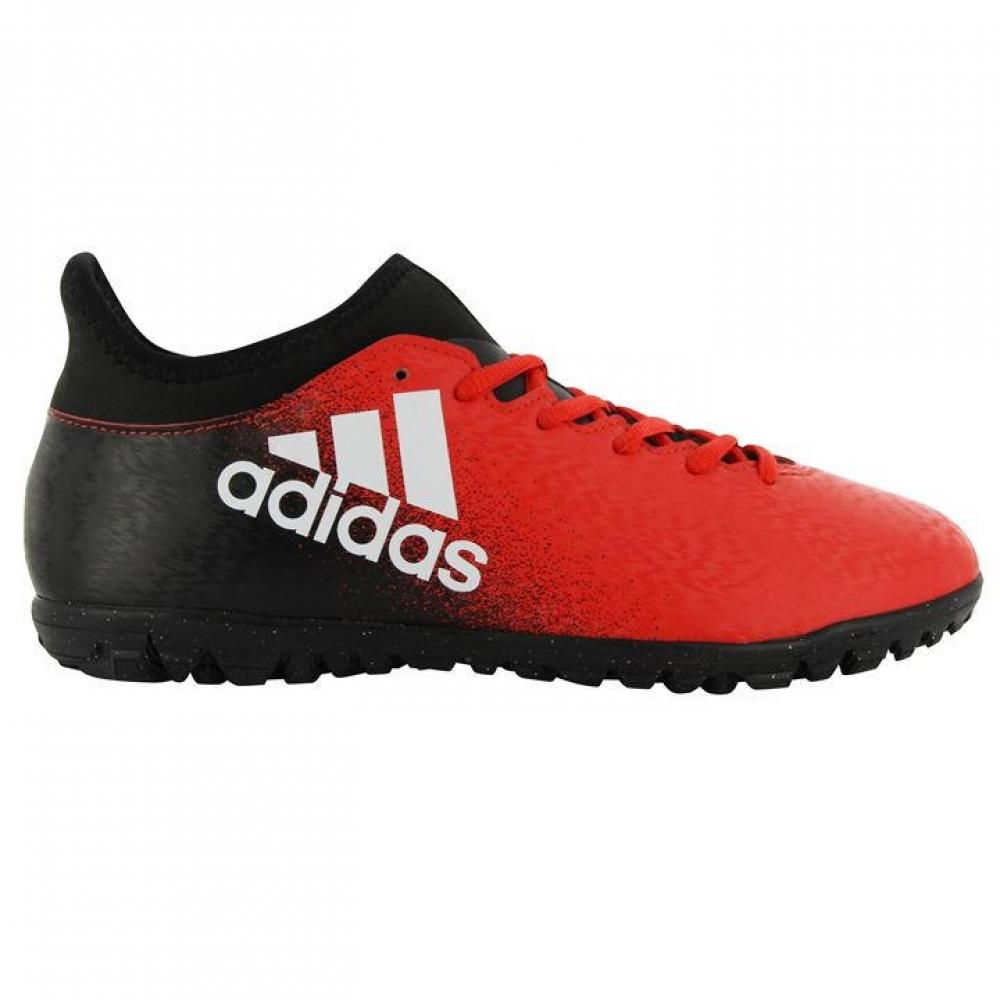 Adidas X 16.3 Mens Astro Turf Trainers (RedBlack)
