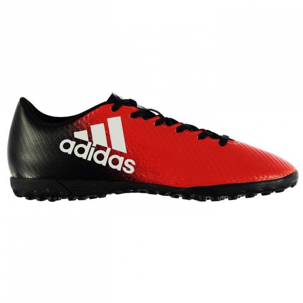 Adidas X 16.4 Mens Astro Turf Trainers (RedBlack)