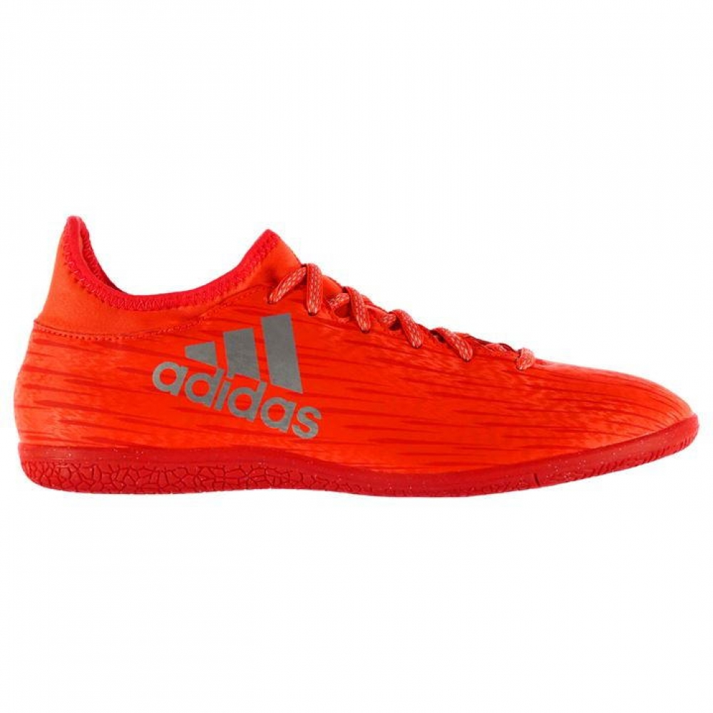 Adidas X 16.3 Mens Indoor Court Trainers (Solar Red)