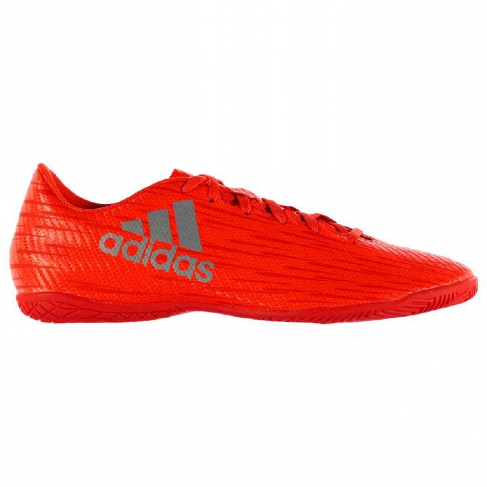 Adidas X 16.4 Mens Indoor Court Trainers (Solar Red)
