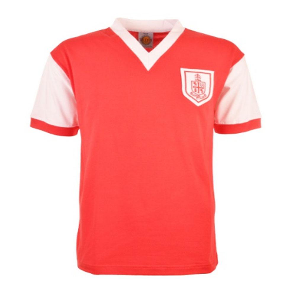 Bournemouth 1960s Retro Football Shirt