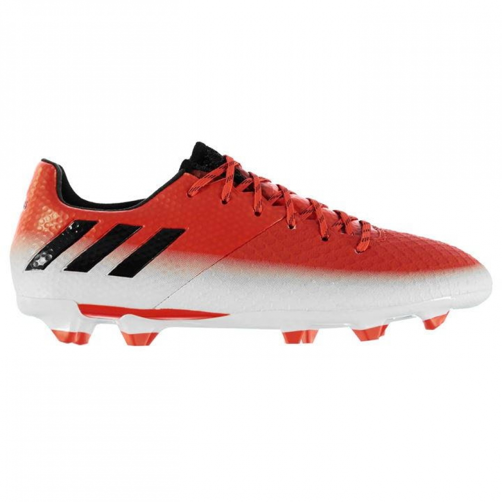 Adidas Messi 16.2 FG Mens Football Boots (Red-White)
