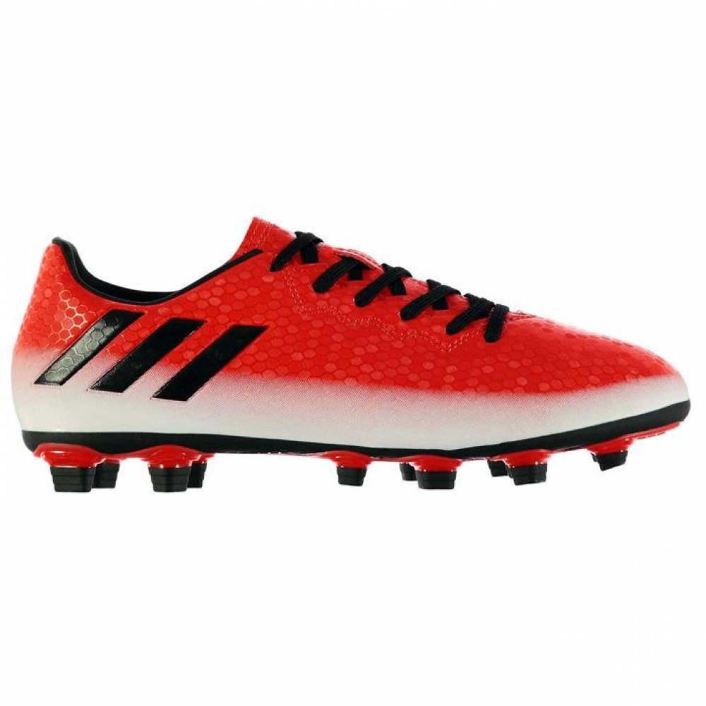 Adidas Messi 16.4 FG Mens Football Boots (Red-White)