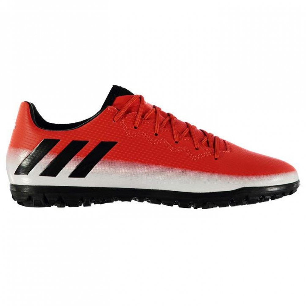Adidas Messi 16.3 Mens Astro Turf Trainers (Red-White)