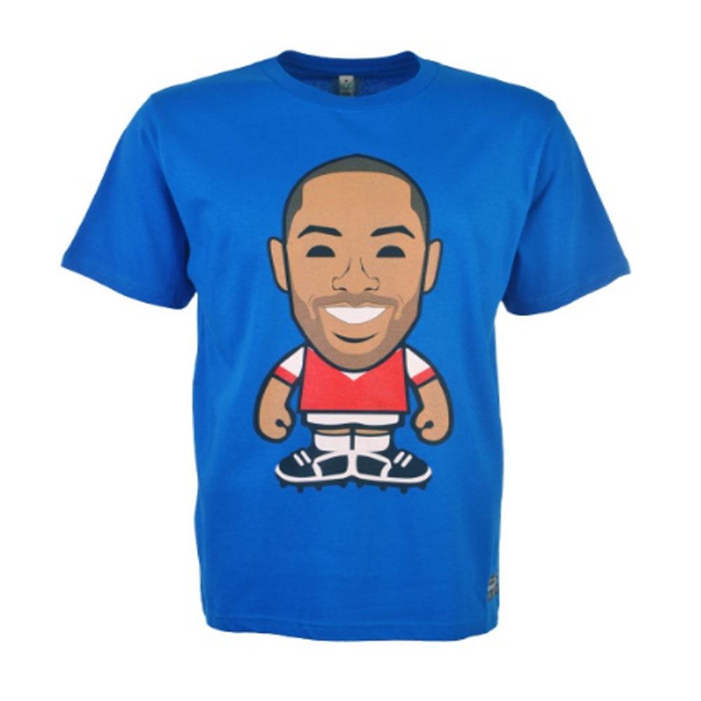 Henry Retro T-Shirt (Royal Blue)