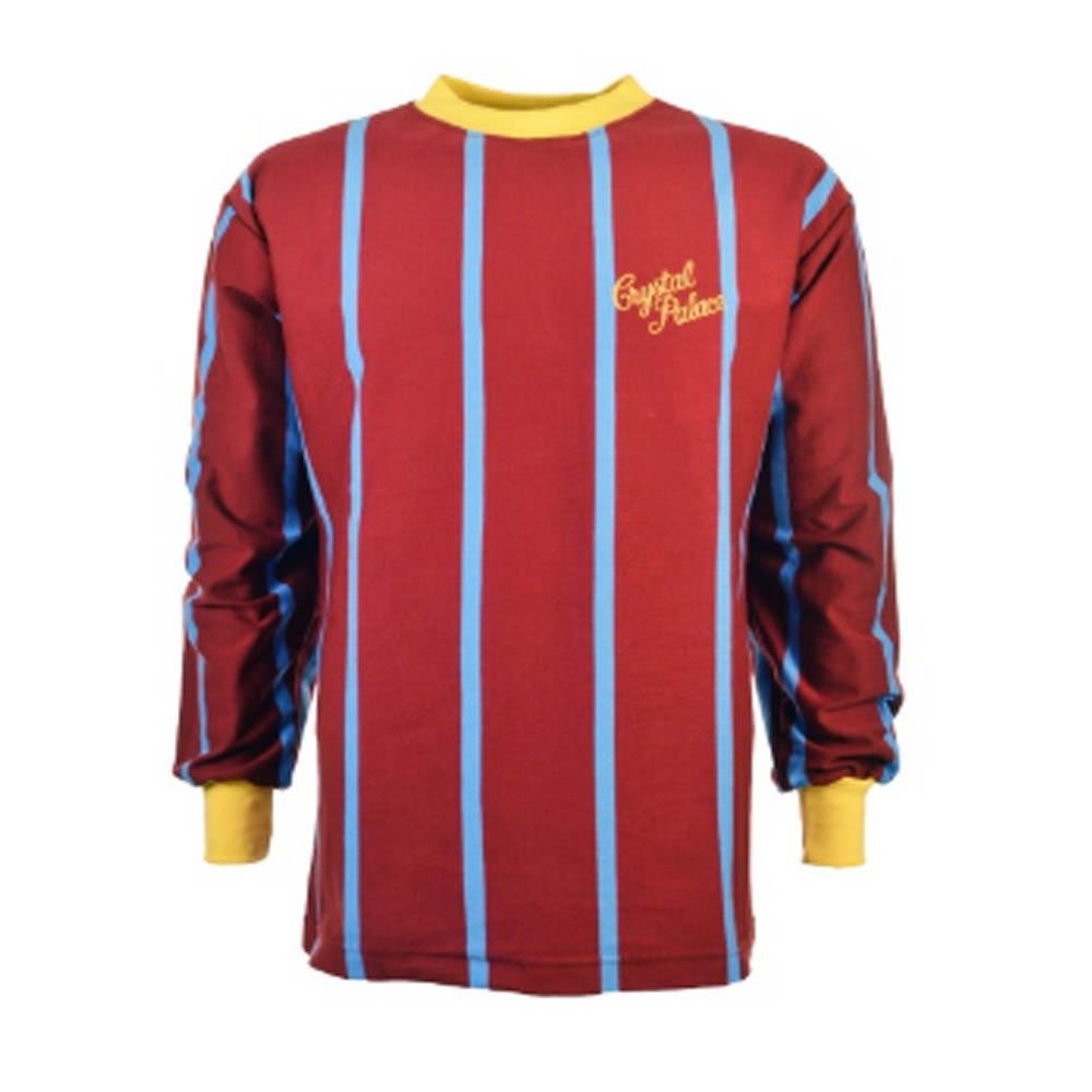 Crystal Palace 1969-1971 Retro Long Sleeve Football Shirt