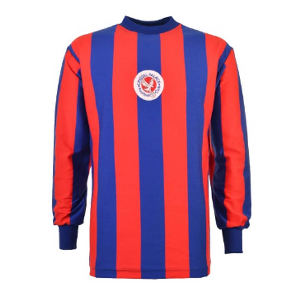 Crystal Palace 1973-74 Retro Long Sleeve Football Shirt