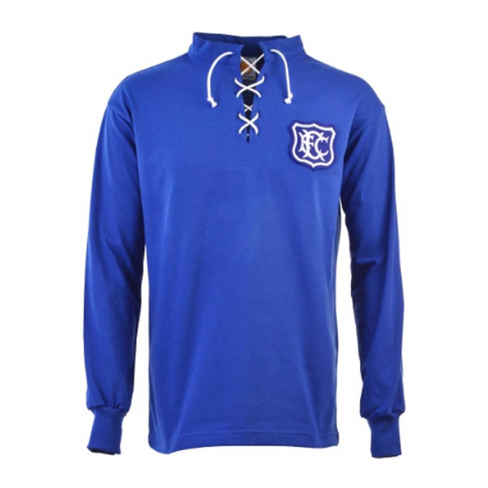 Everton 1920s Retro Football Shirt
