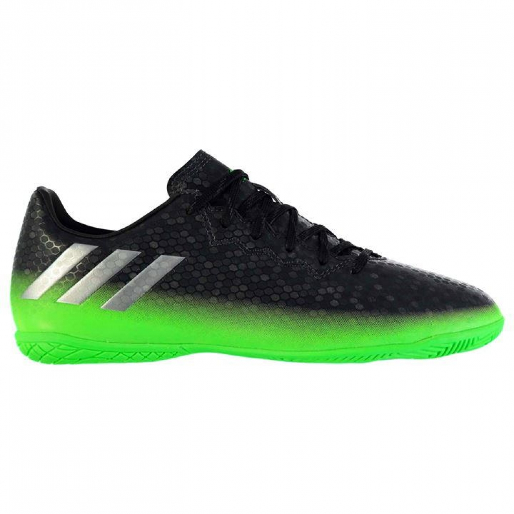 Adidas Messi 16.4 FG Mens Indoor Court Trainers (Dark Grey-Soul Green)
