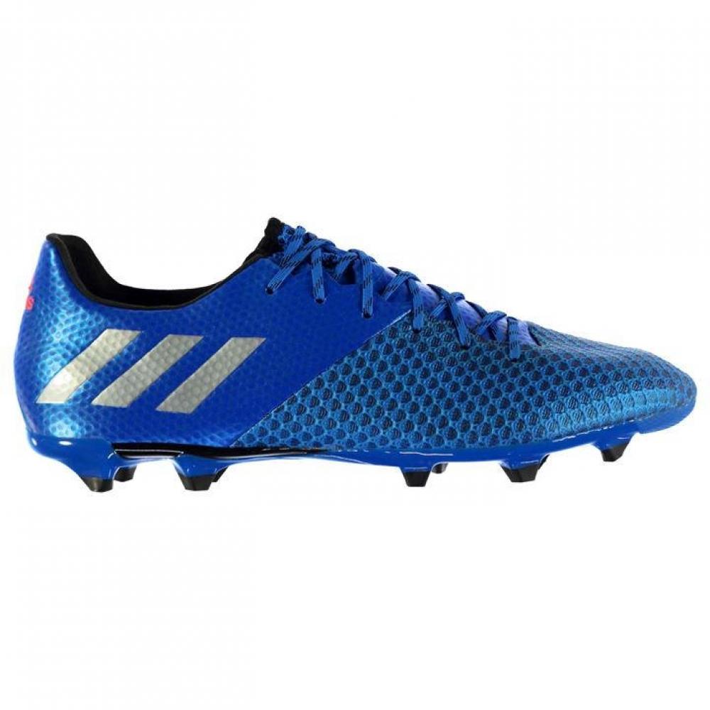 Adidas Messi 16.2 FG Mens Football Boots (Shock Blue)