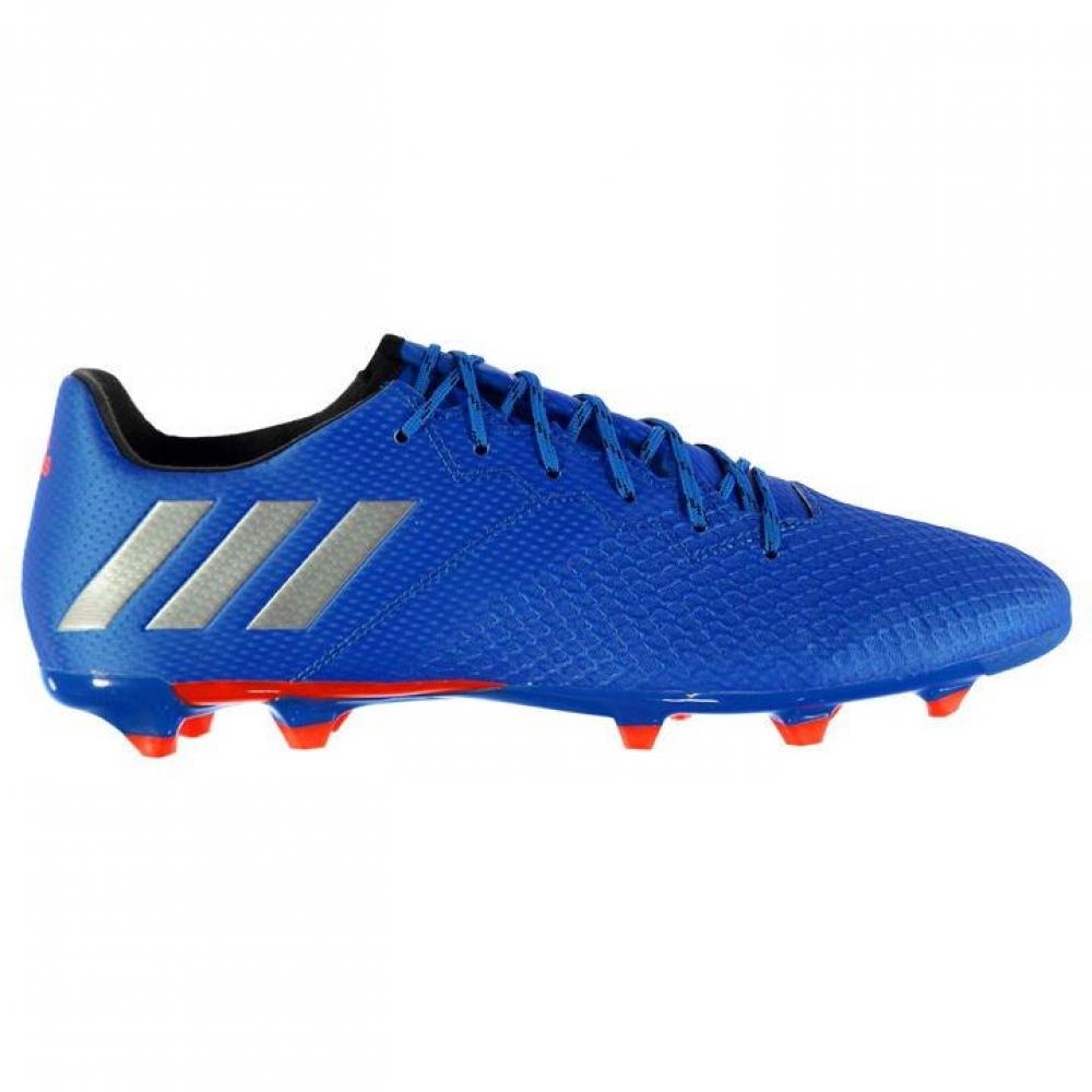 Adidas Messi 16.3 FG Mens Football Boots (Shock Blue)