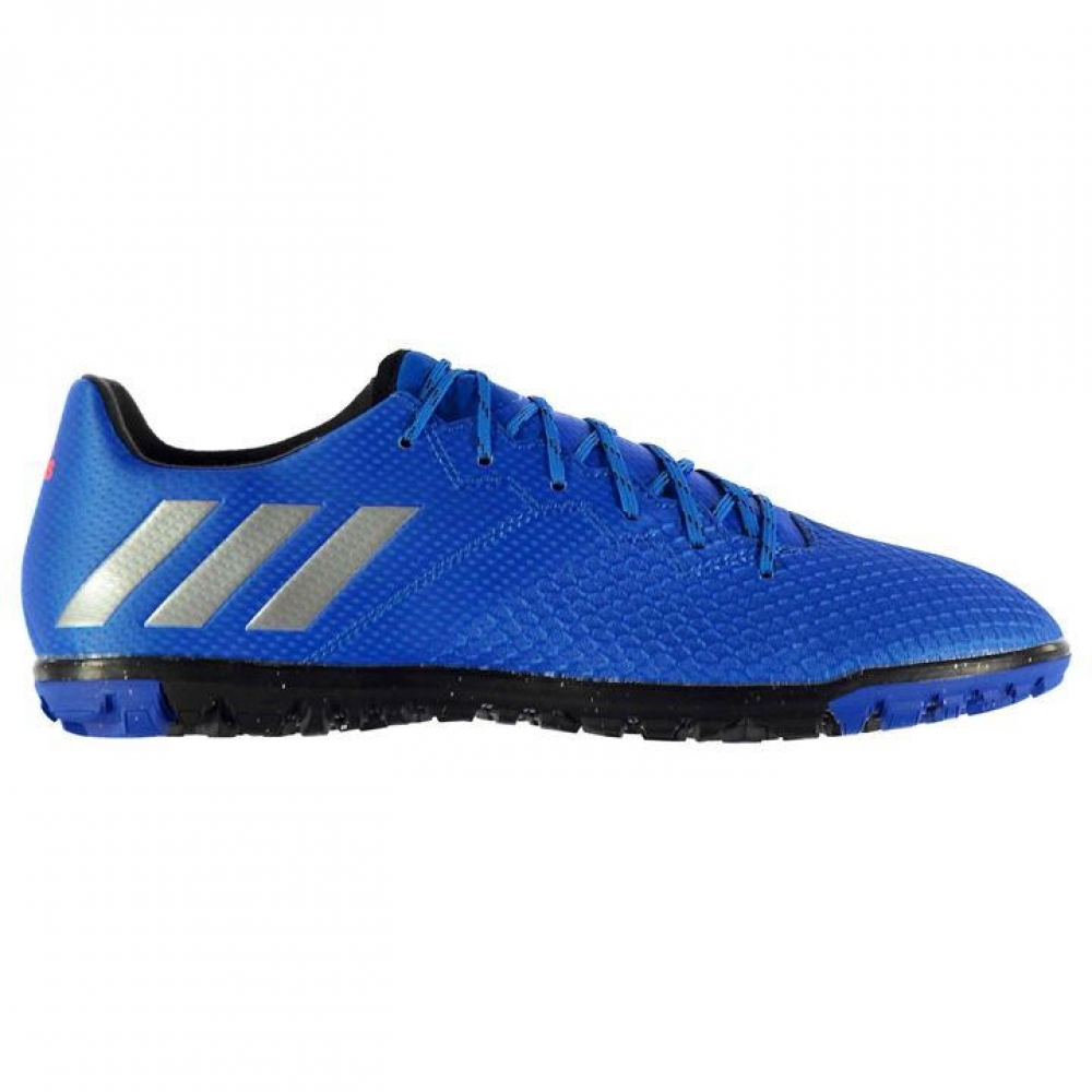 Adidas Messi 16.3 Mens Astro Turf Trainers (Shock Blue)