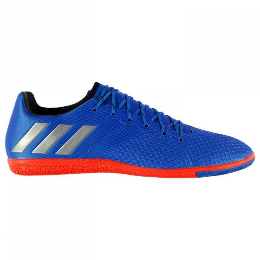 Adidas Messi 16.3 Mens Indoor Court Trainers (Shock Blue)