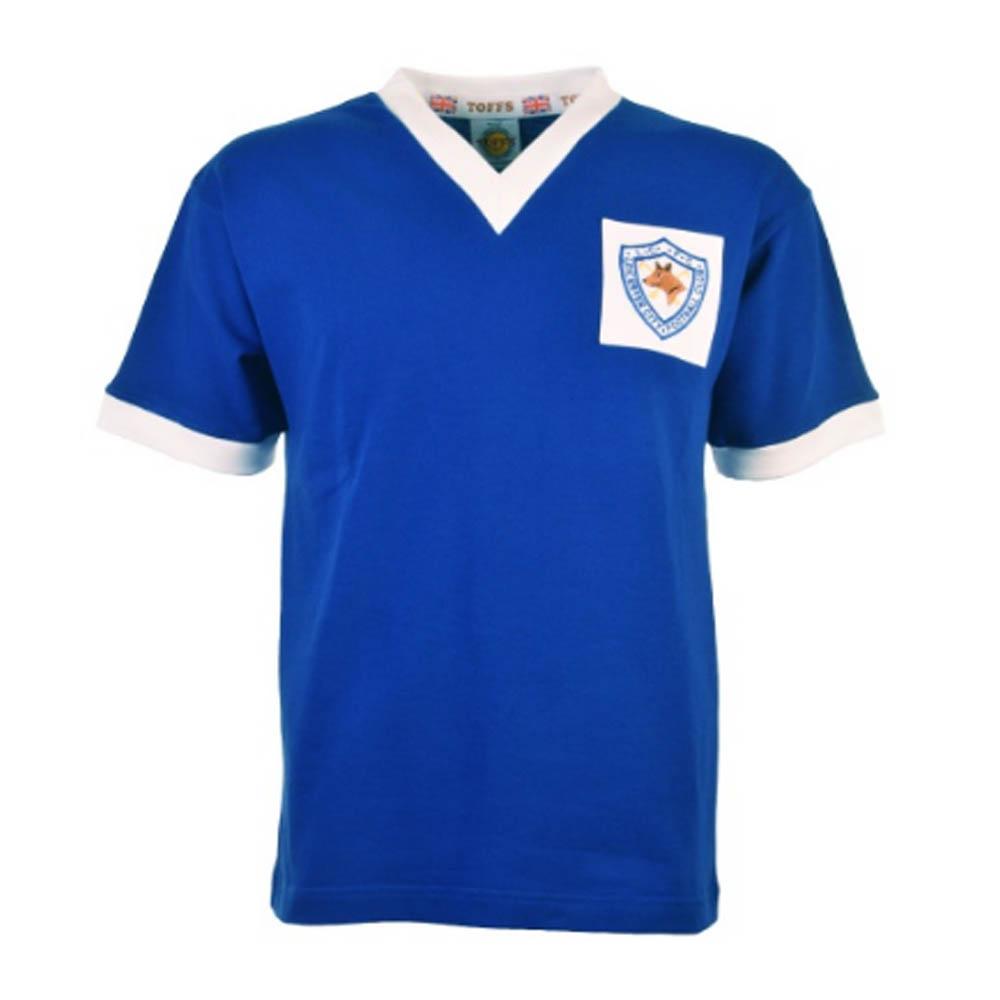 Leicester City 1956-1961 Retro Football Shirt