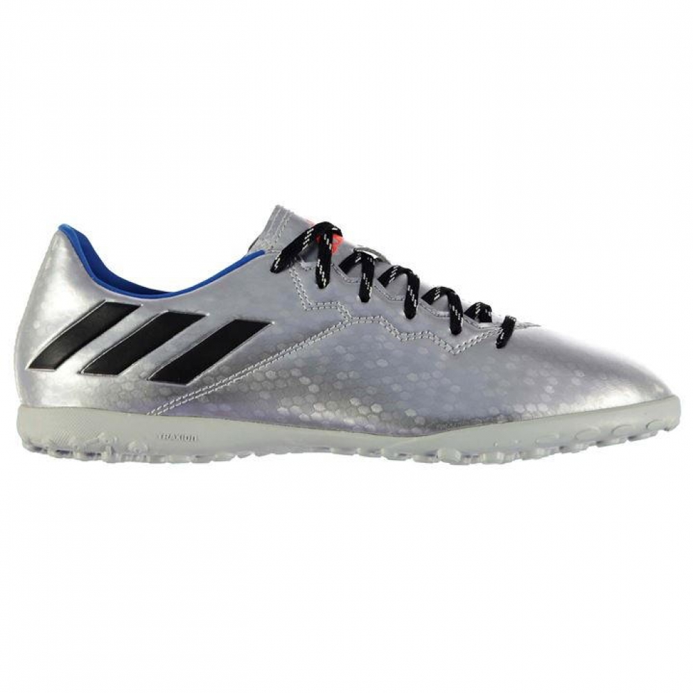 Adidas Messi 16.4 Mens Astro Turf Trainers (Silver-Black)