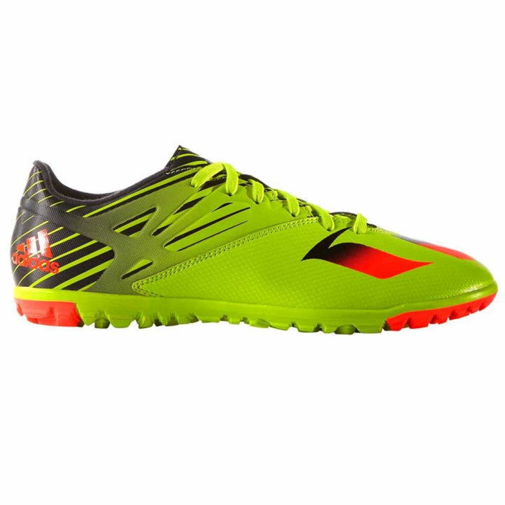 Adidas Messi 15.3 Mens Astro Turf Trainers (YellowRed)