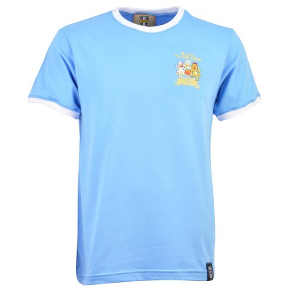 Manchester City 12th Man Retro T-Shirt- Ringer