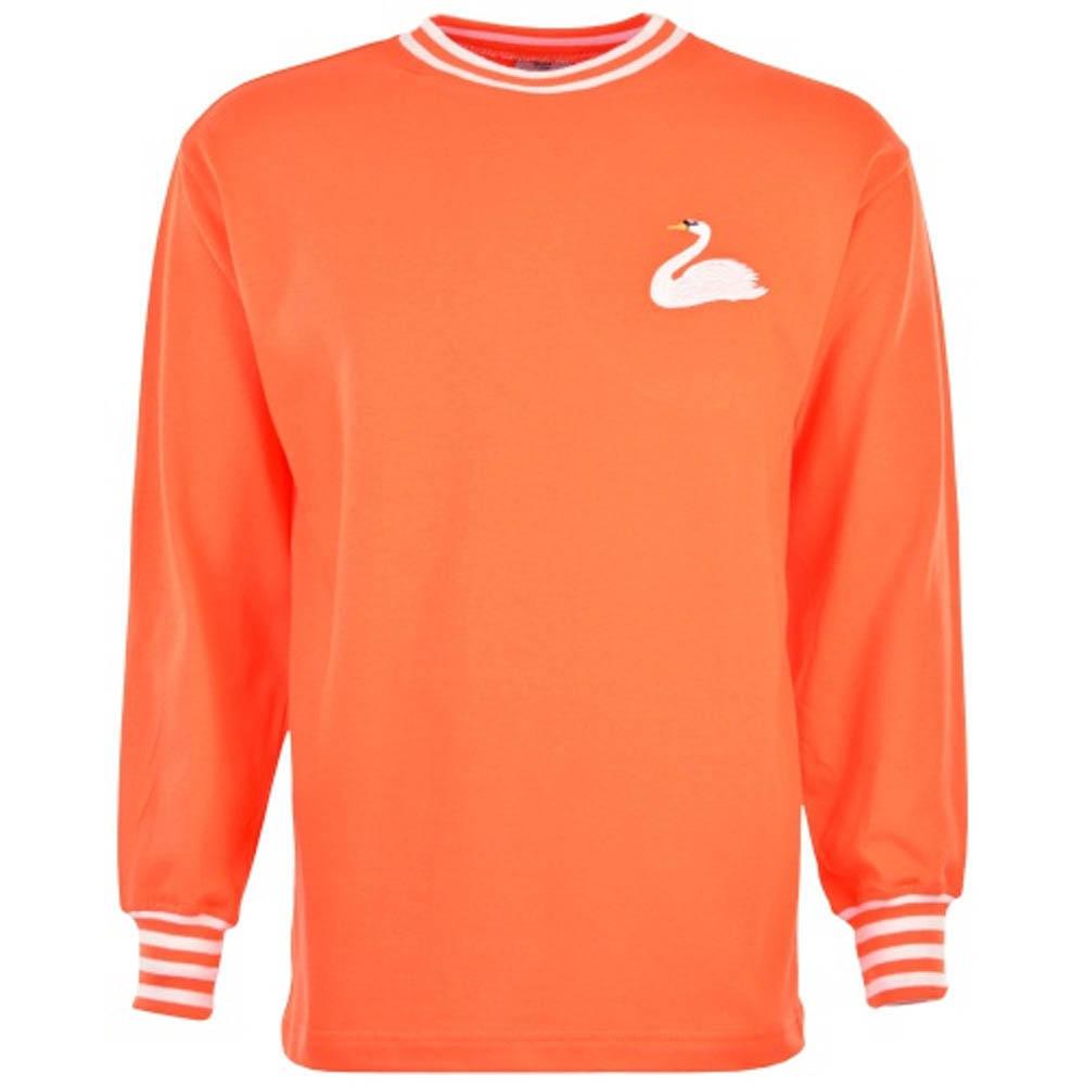 Swansea City 1960s Away Retro Football Shirt