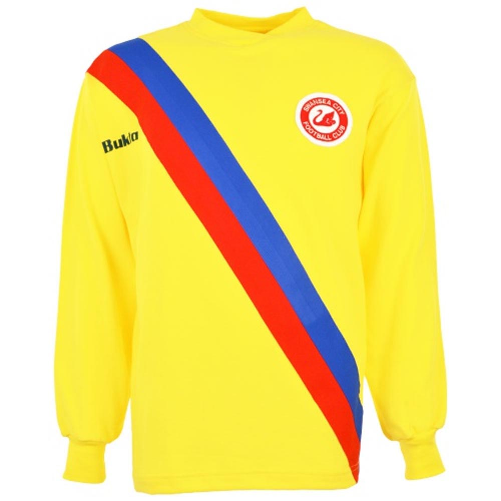 Swansea City 1978-1979 Away Bukta Retro Football Shirt