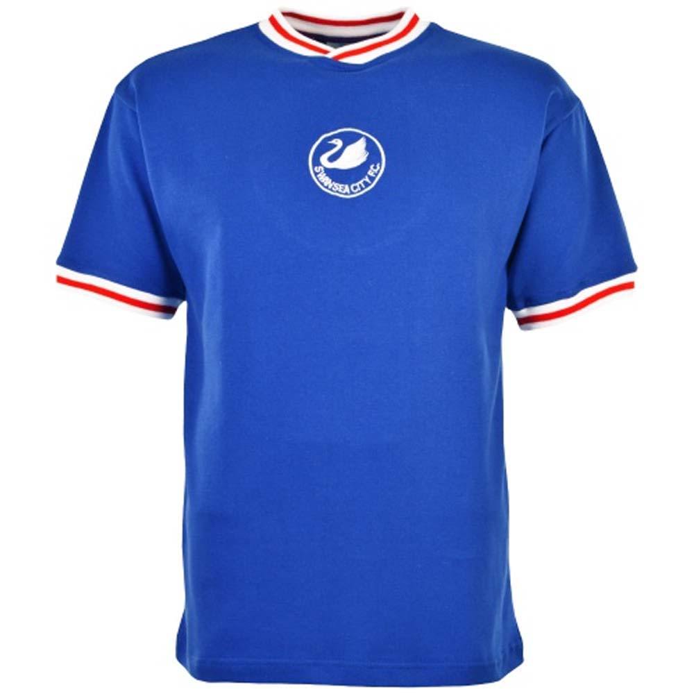Swansea City 1981-1984 Away Retro Football Shirt