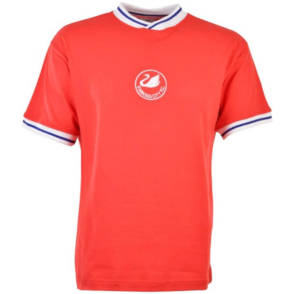 Swansea City 1981-1984 Retro Football Shirt