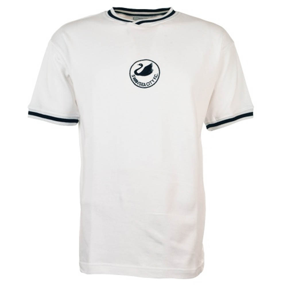 Swansea City 1981-1984 Home Retro Football Shirt
