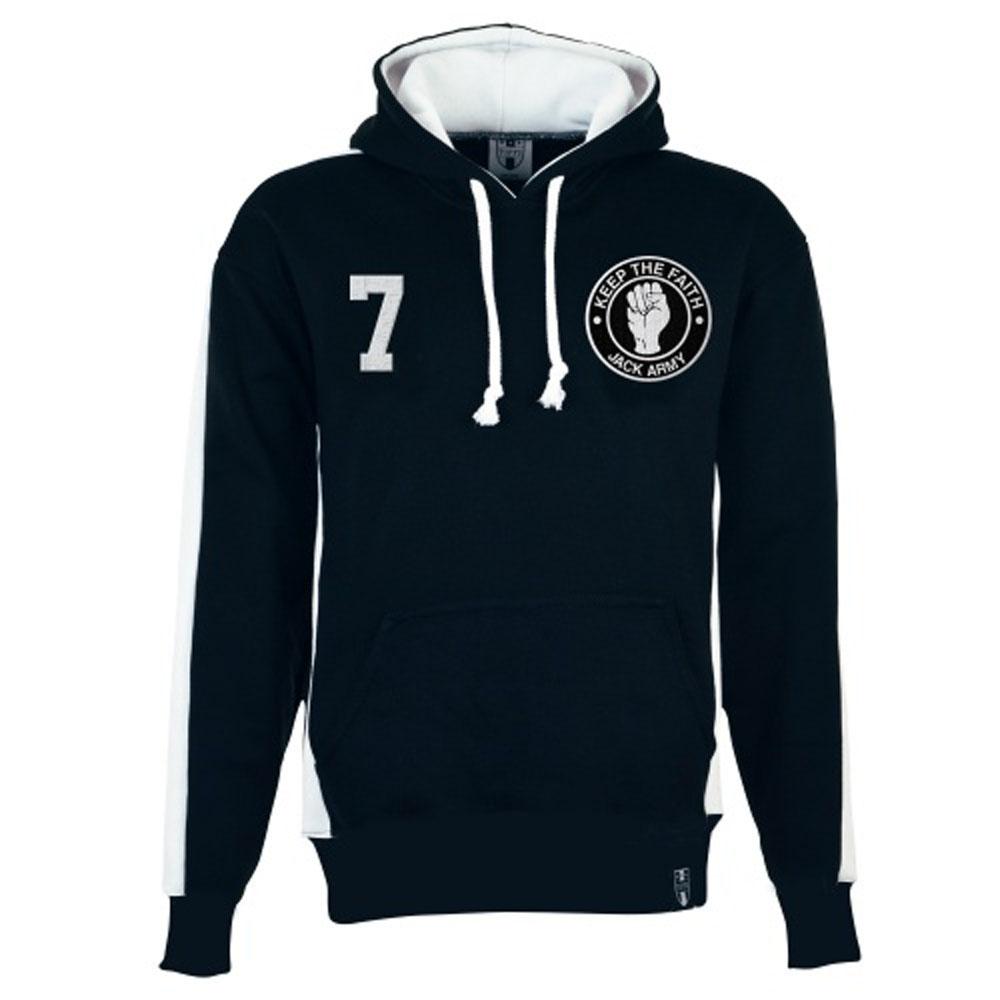 Swansea City Number 7 Retro Hoodie