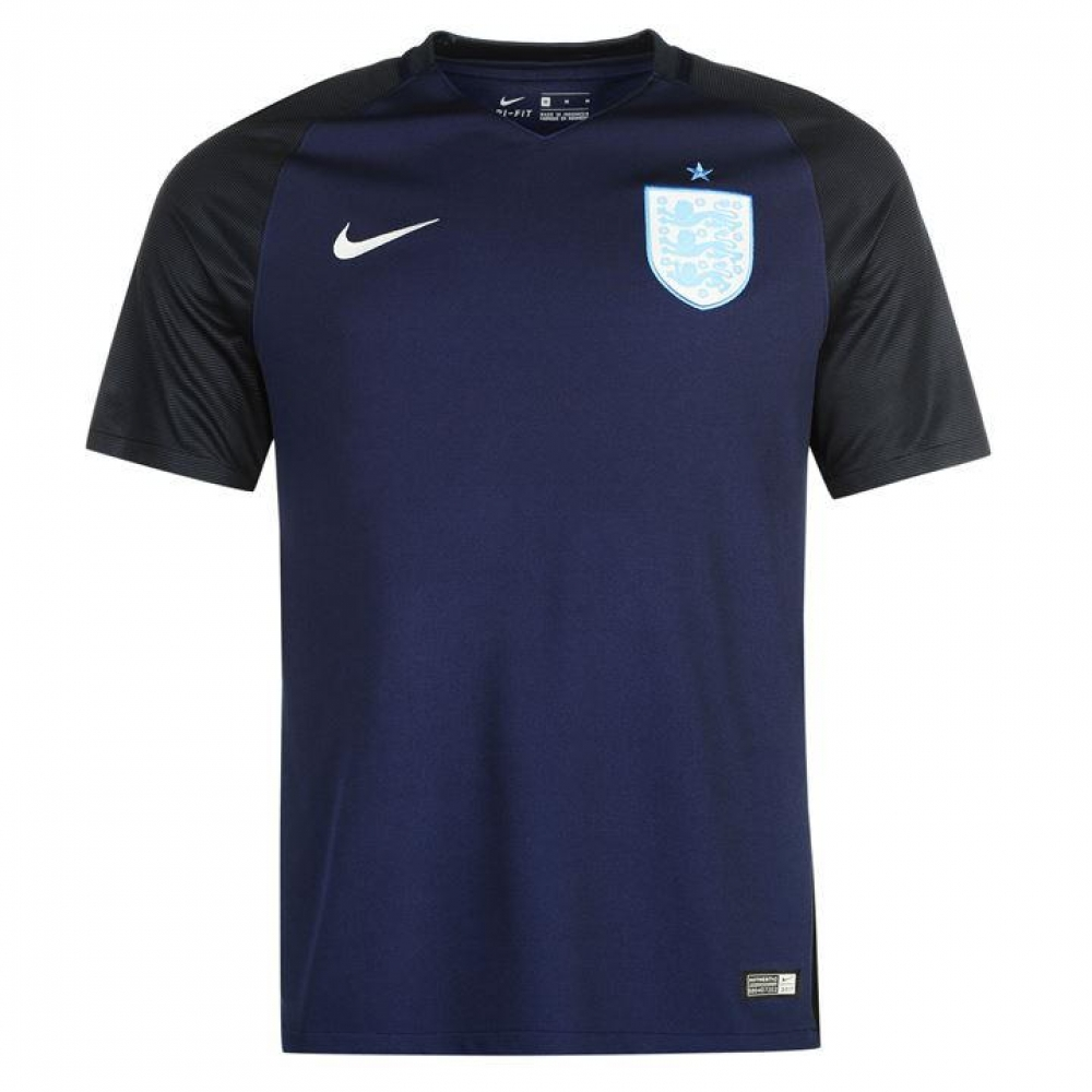 2017-2018 England Away Nike Football Shirt