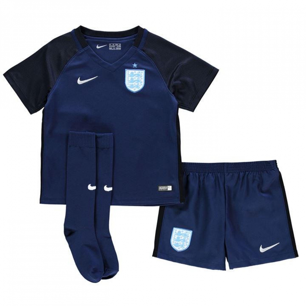 2017-2018 England Away Nike Mini Kit