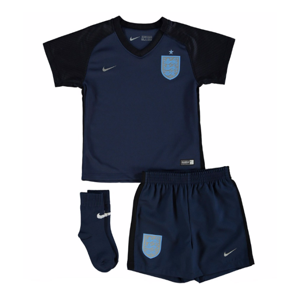 2017-2018 England Away Nike Baby Kit
