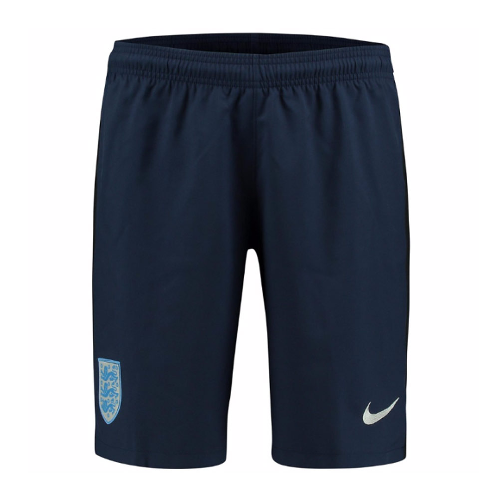 2017-2018 England Nike Away Shorts (Navy)