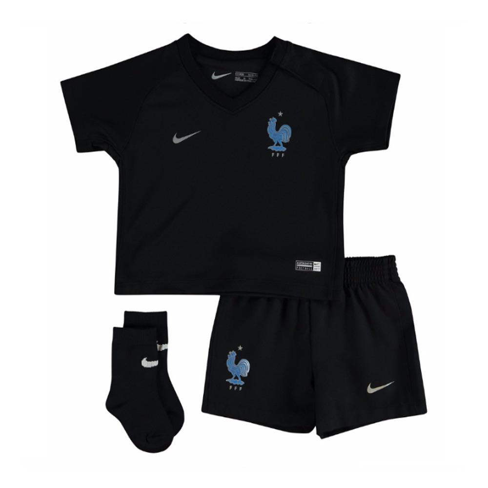 2017-2018 France Away Nike Baby Kit