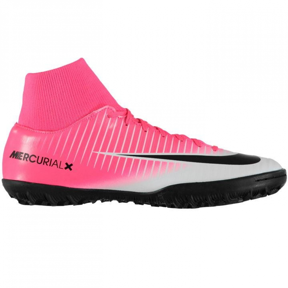 Nike Mercurial Victory Dynamic Fit Mens Astro Turf Trainers (PinkSilver)