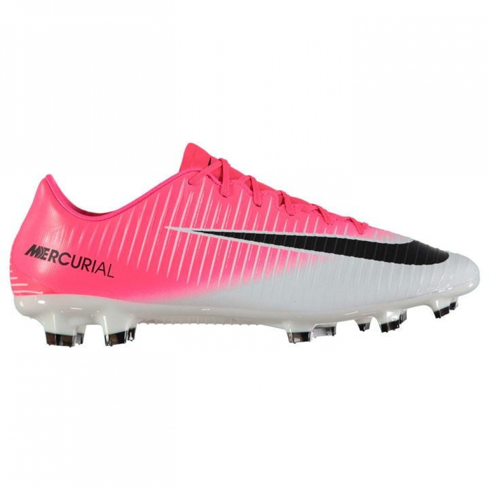 Nike Mercurial Veloce FG Football Boots (PinkSilver)