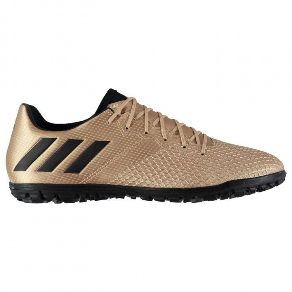 Adidas Messi 16.3 Mens Astro Turf Trainers (Copper MetalBlack)