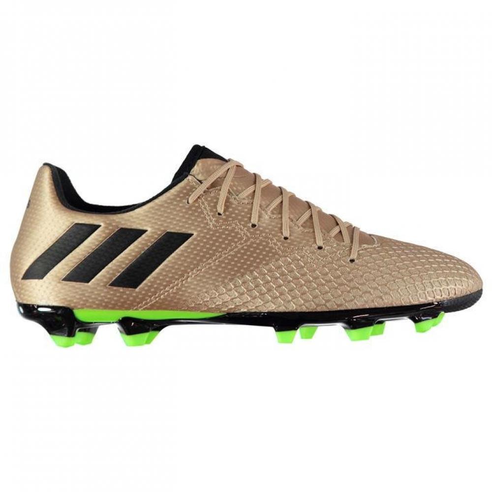 Adidas Messi 16.3 FG Mens Football Boots (Copper Metal-Black)