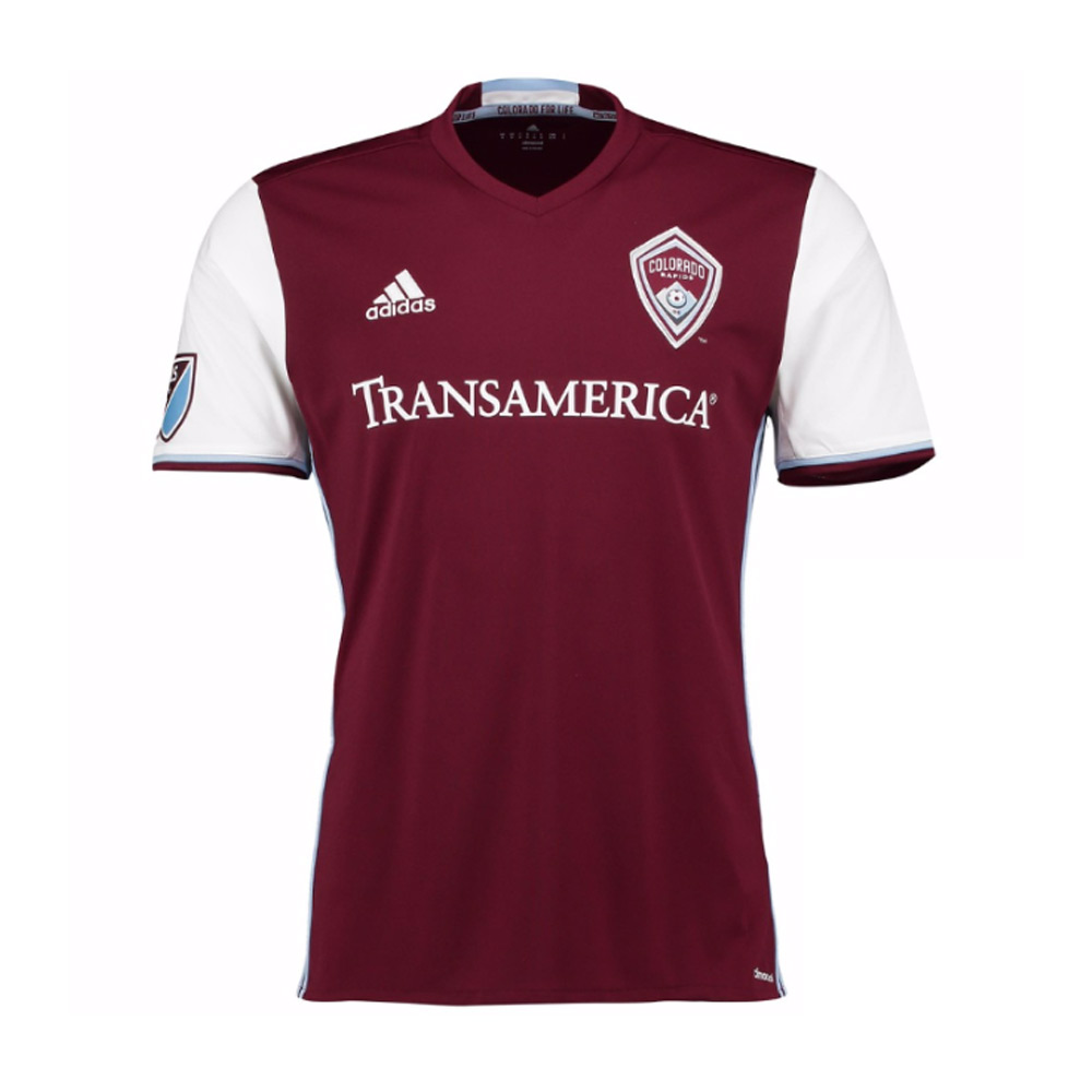 2017 Colorado Rapids Adidas Home Football Shirt