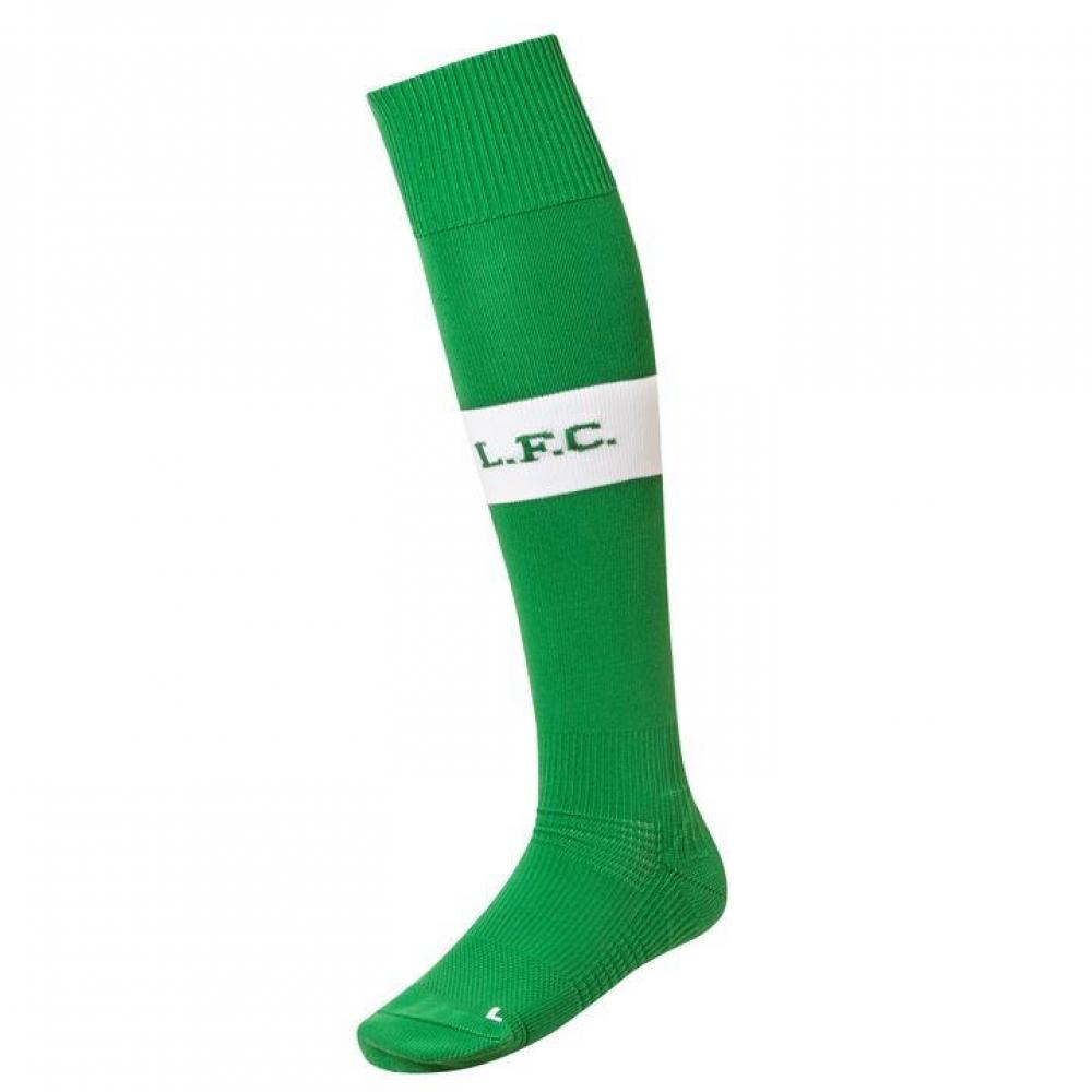 2017-2018 Liverpool Home Goalkeeper Socks (Green) - Kids