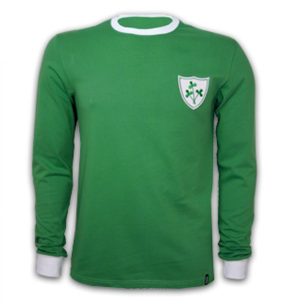 Ireland 1960&39s Long Sleeve Retro Shirt 100 cotton