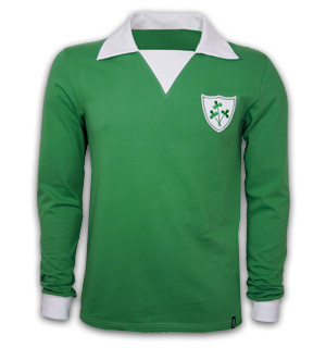 Ireland 1970s Long Sleeve Retro Shirt 100 cotton