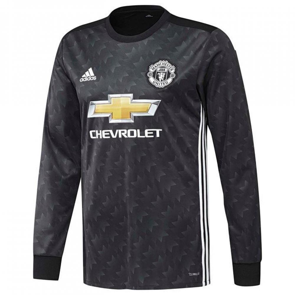 2017-2018 Man Utd Adidas Away Long Sleeve Shirt (Kids)