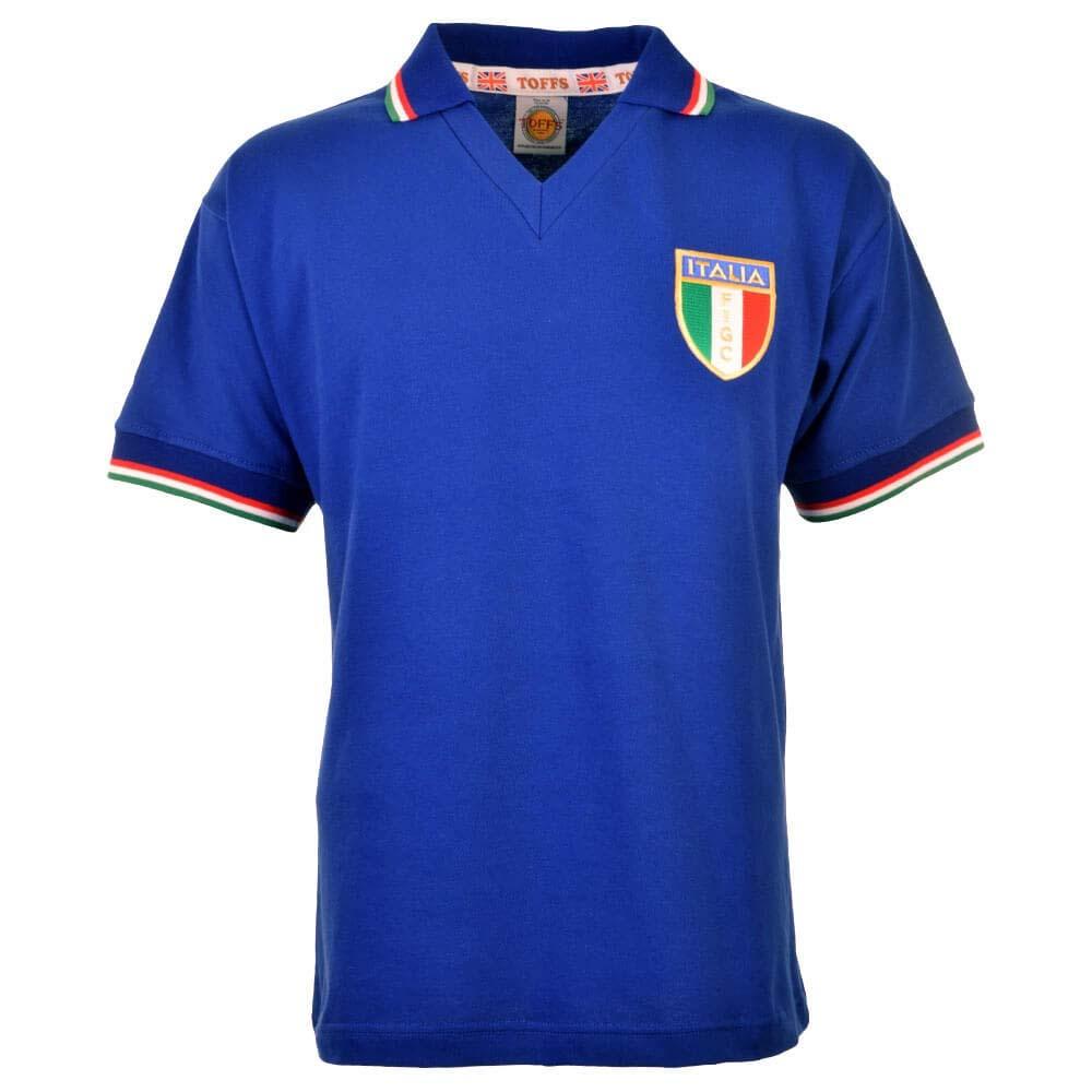 Italy 1982 World Cup Winners Retro Football Shirt