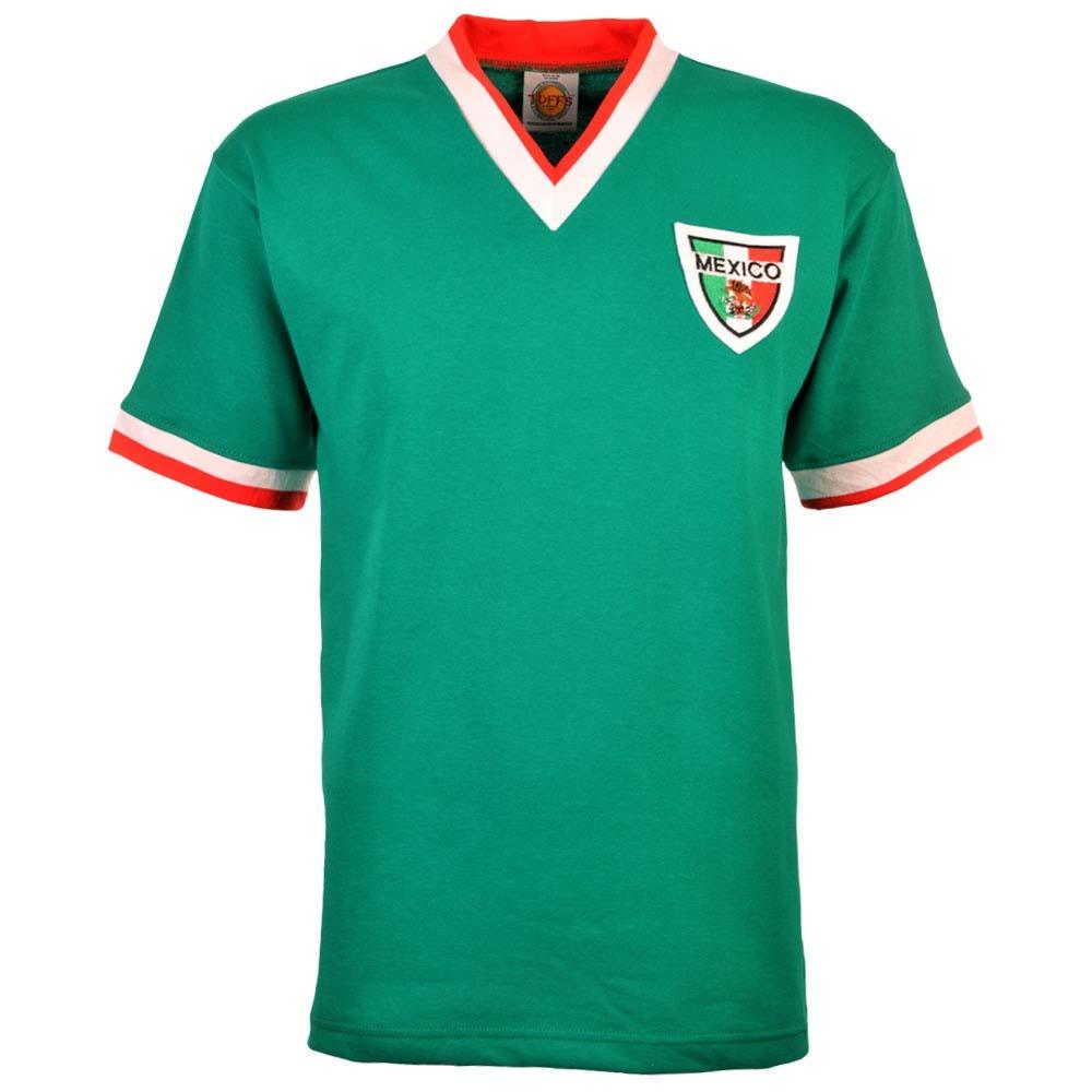 Mexico 1960-1970s Retro Football Shirt