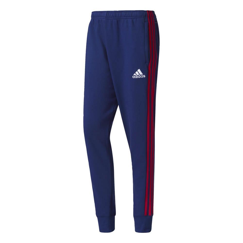 2017-2018 Ajax Adidas Sweat Pants (Dark Blue)