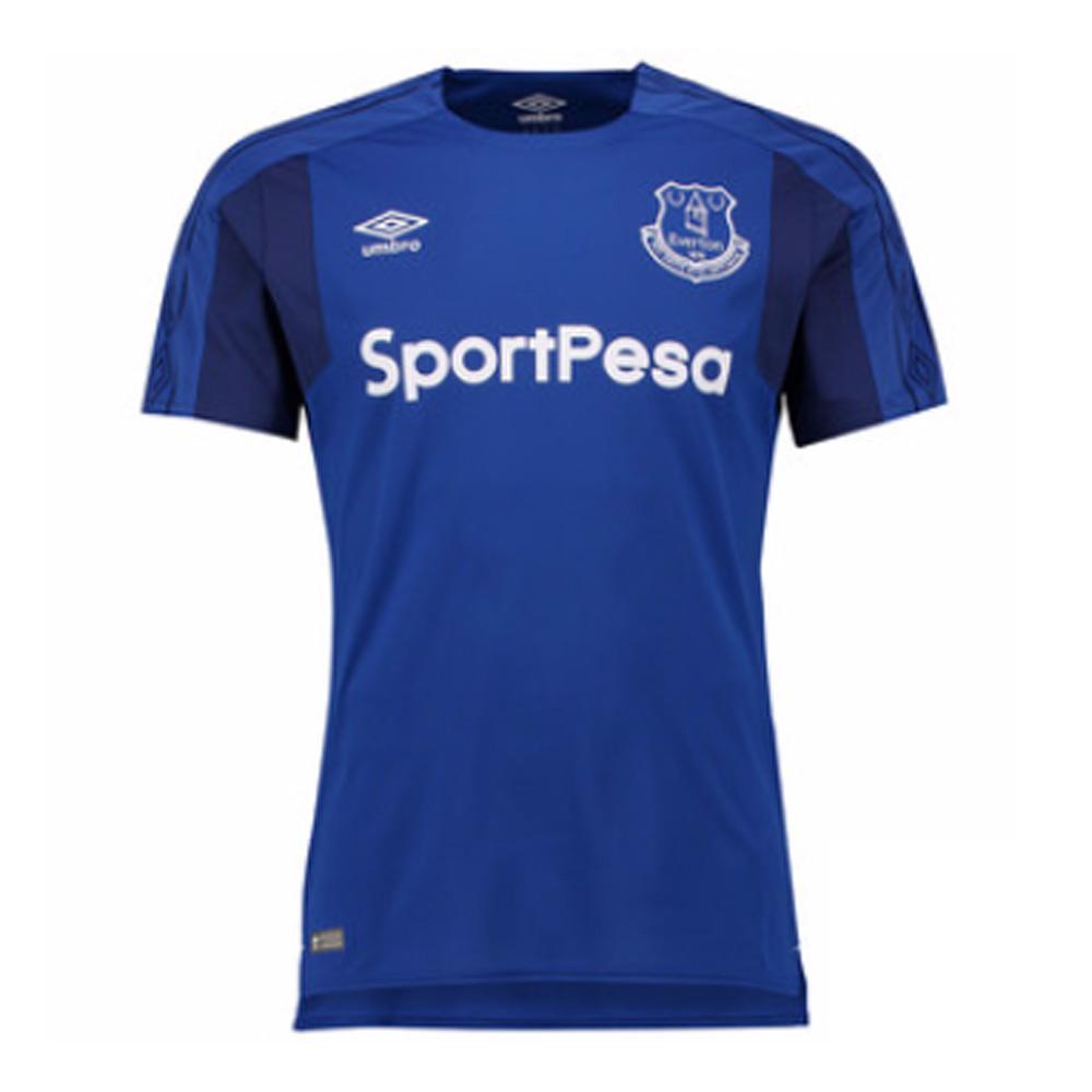 2017-2018 Everton Umbro Home Football Shirt
