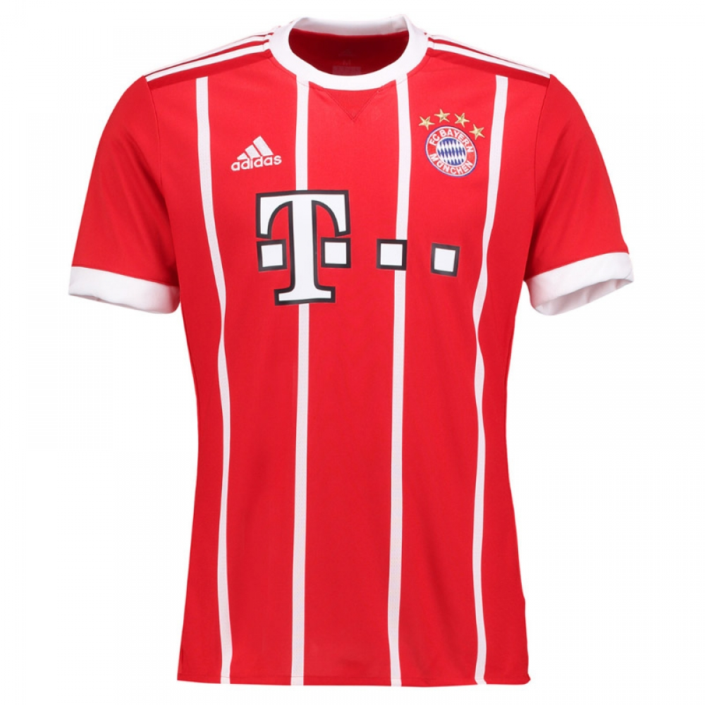 2017-2018 Bayern Munich Adidas Home Football Shirt