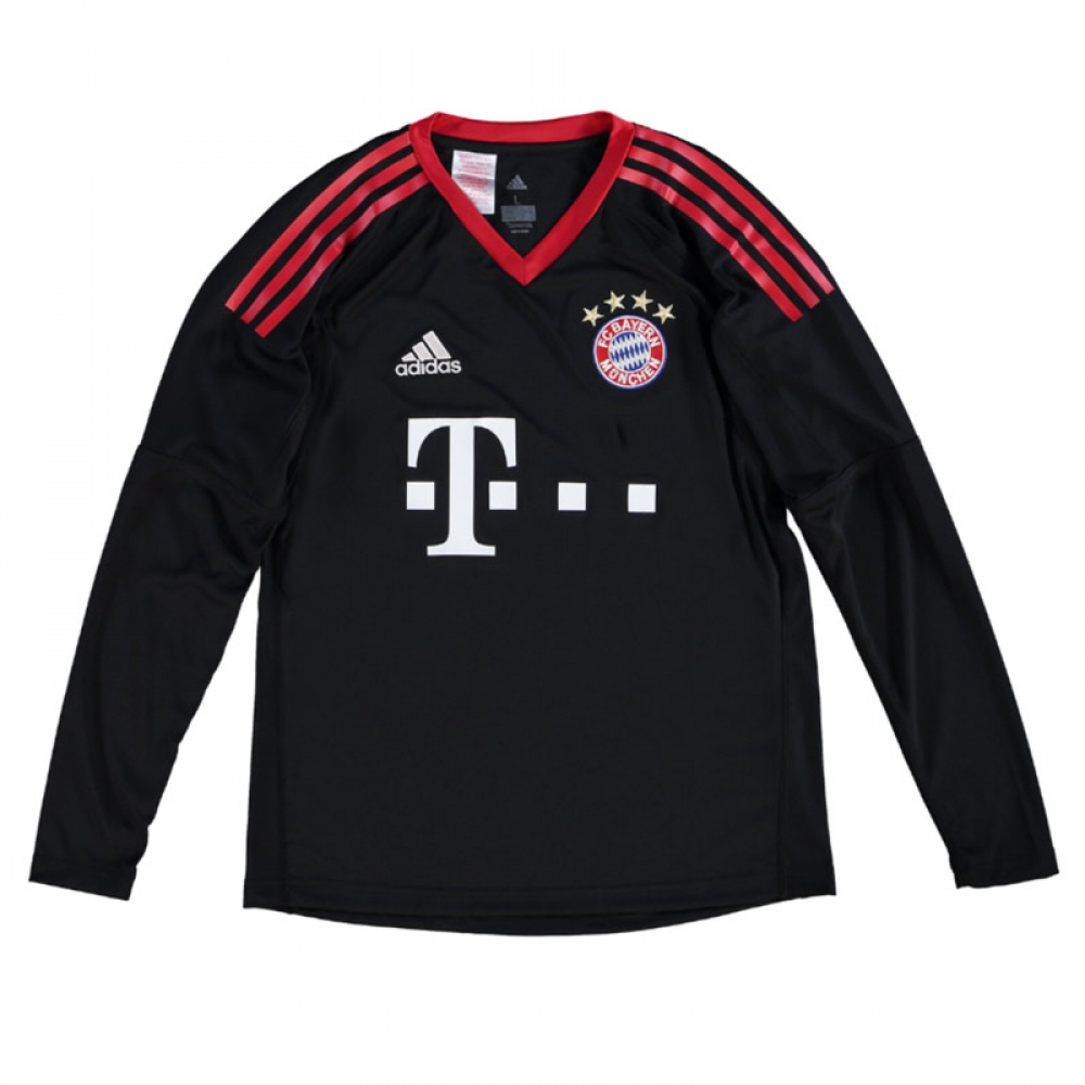 2017-2018 Bayern Munich Home Adidas Goalkeeper Shirt (Kids)